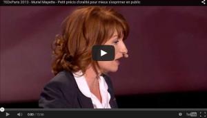 TEDxParis 2013 - Muriel Mayette